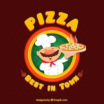 Insignia de pizza