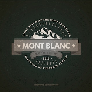 Insignia vintage Mont Blanc
