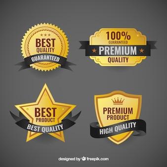 Insignias de calidad premium
