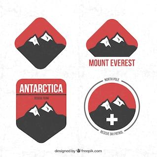 Insignias de Montaña