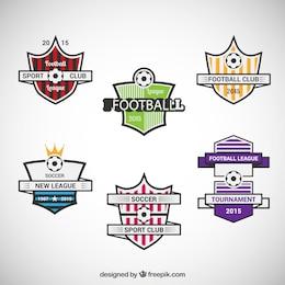 Insignias del equipo de fútbol