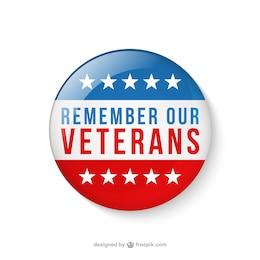 Insignias día de los Veteranos