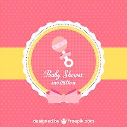Invitación a baby shower