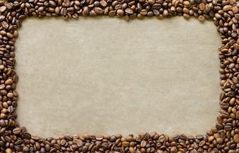 Invitación de la salud marrón frijol alimentos