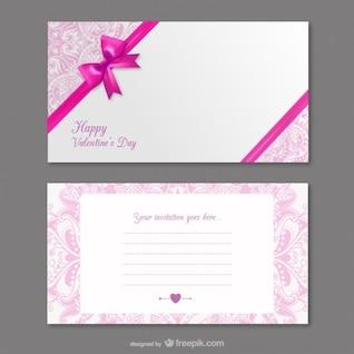 Invitaciones de San Valentín