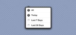 iOS Popover Estilo