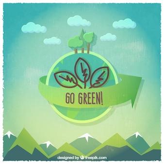 Ir etiqueta verde