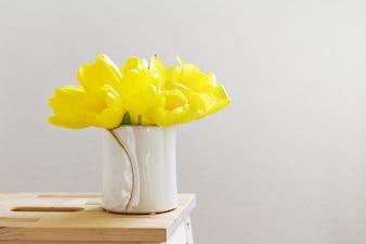 Jarrón de flores flor de la celebración de la flor