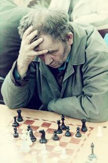 jugador de ajedrez