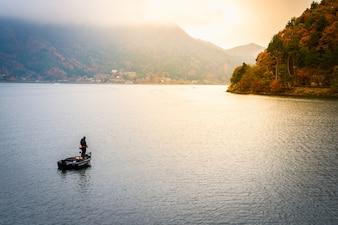 Kawaguchiko japón lago