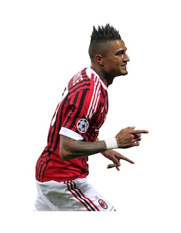 Kevin Prince Boateng del AC Milan Serie A