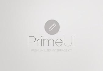 Kit de interfaz de usuario psd material de