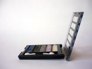 kit de maquillaje, envase de cosméticos,
