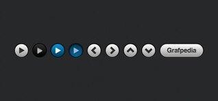 Kit ui oscuro con reproductor de vídeo