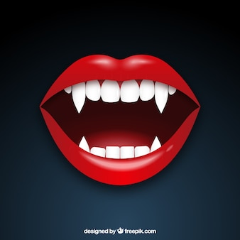 La boca del vampiro