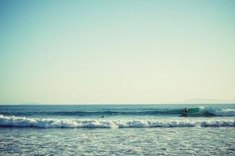 La captura de algunas olas