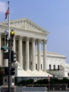 la Corte Suprema - Washington DC, famoso