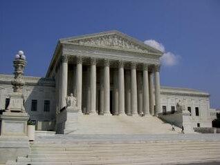la Corte Suprema - Washington DC, punto de referencia