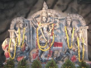 la diosa hindú Durga Puja maa