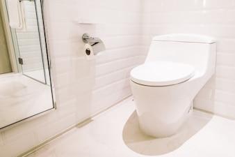 La higiene sanitaria blanco verde wc