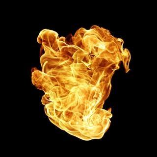 La llama de combustible