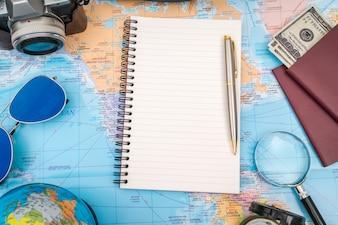 La tecnología de Internet la comunicación viajes de placer