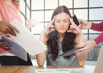 La tecnología decepción adulto joven carrera problema