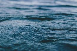La textura del agua