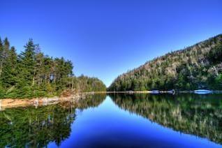 lac abeto HDR agua