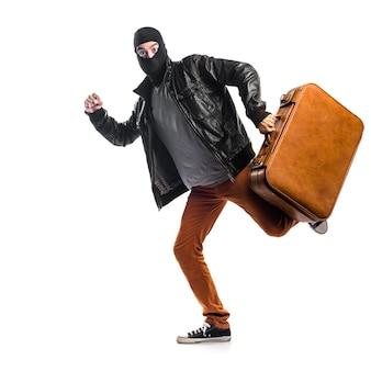 Ladrón corriendo rápido