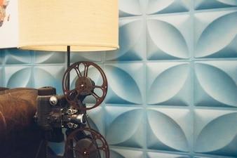 Lámpara de rollo de película