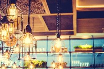 Lámpara de techo antiguas