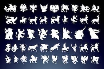 las criaturas míticas
