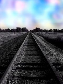 las luces del ferrocarril