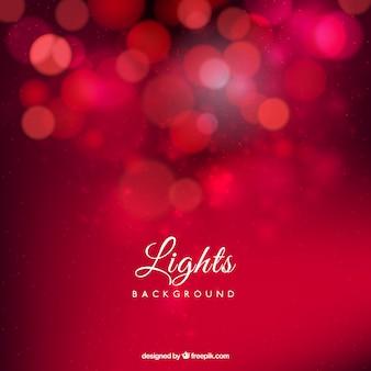 Las luces rojas de fondo