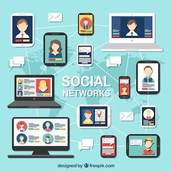 Las redes sociales infografía