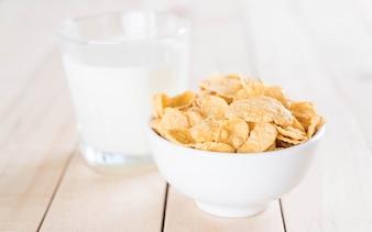 Leche y cereales