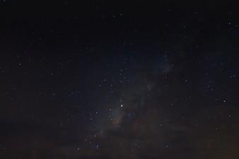 Lechoso, abstracto, galaxia, nebulosa, campo