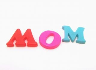 Letras de plástico - madre