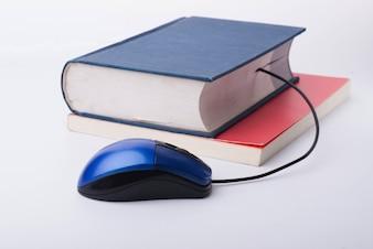Libros con un ratón
