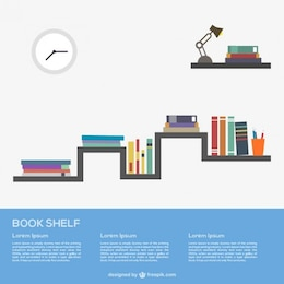 Libros en el estante