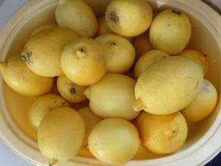 limones, amarillo