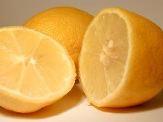 limones en rodajas