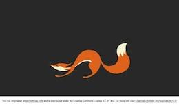 Lindo ejemplo del zorro