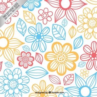 Lindo fondo floral