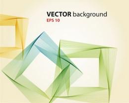 línea abstracta del vector del bloque de fondo
