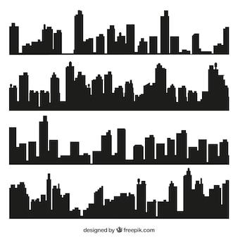 Líneas de horizonte de la ciudad