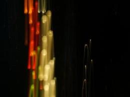 líneas de luz de fondo