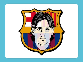 Lionel messi vector logo