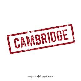 Logo de Cambridge estampado